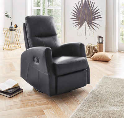 ATLANTIC home collection Relaxsessel, mit Wipp- und Relaxfunktion