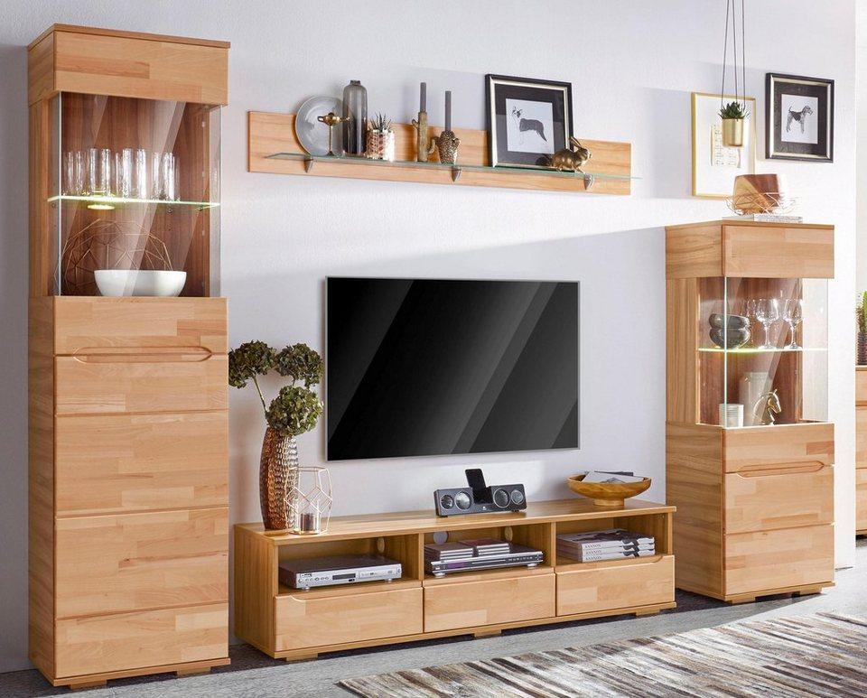 Wohnwand 4 tlg online kaufen otto for Wohnwand hochwertig