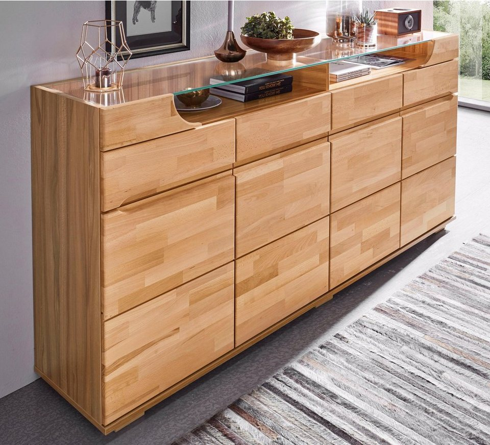 sideboard breite 200 cm 4 schubk sten online kaufen otto. Black Bedroom Furniture Sets. Home Design Ideas