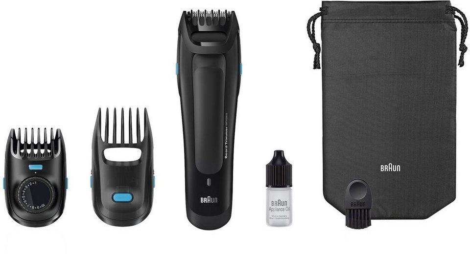 Braun Bartschneider BT5050 , Ultimative Präzision für den perfekten Bartstyle in schwarz
