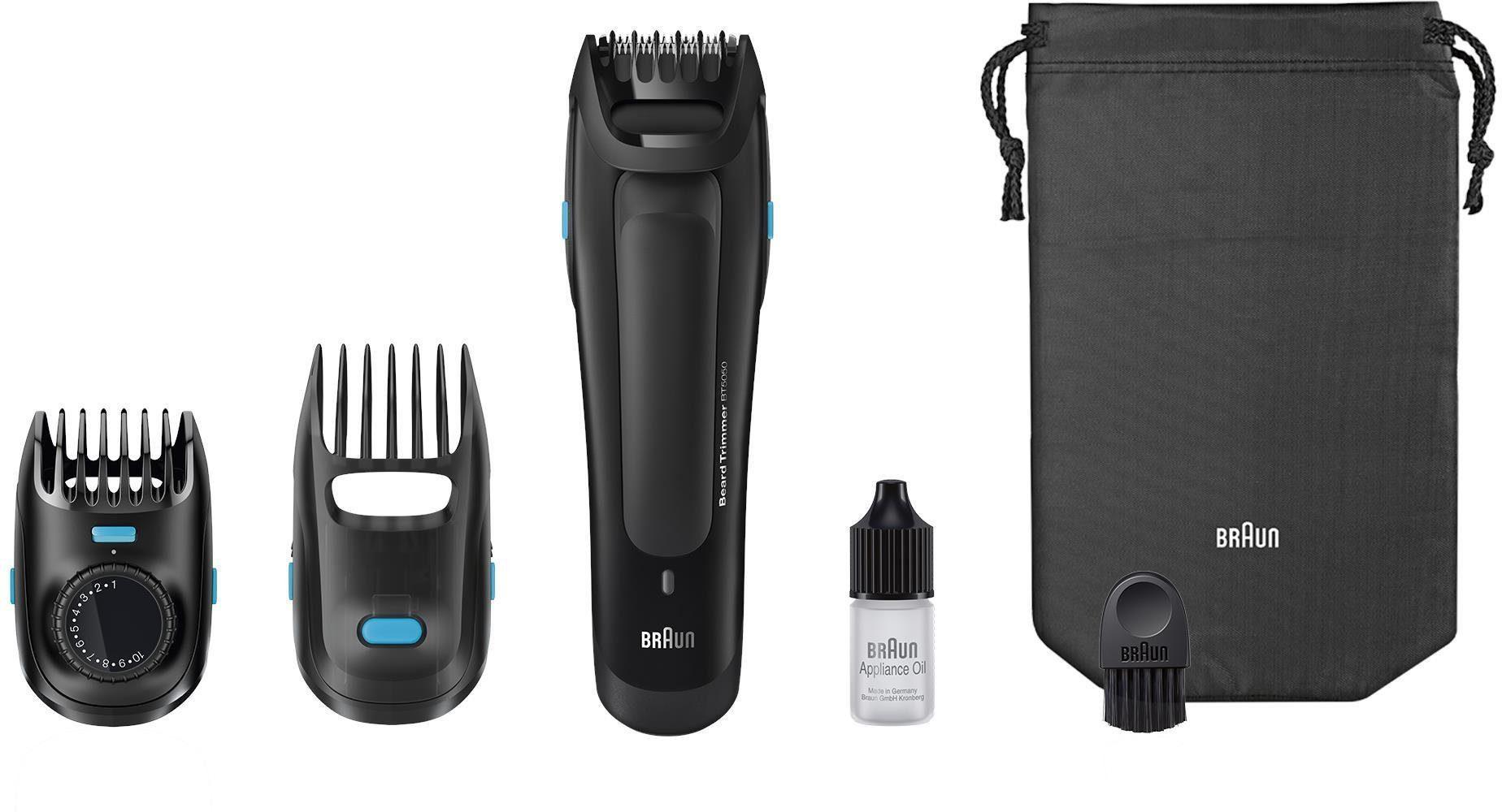 Braun Bartschneider Styler BT5050 , Ultimative Präzision für den perfekten Bartstyle