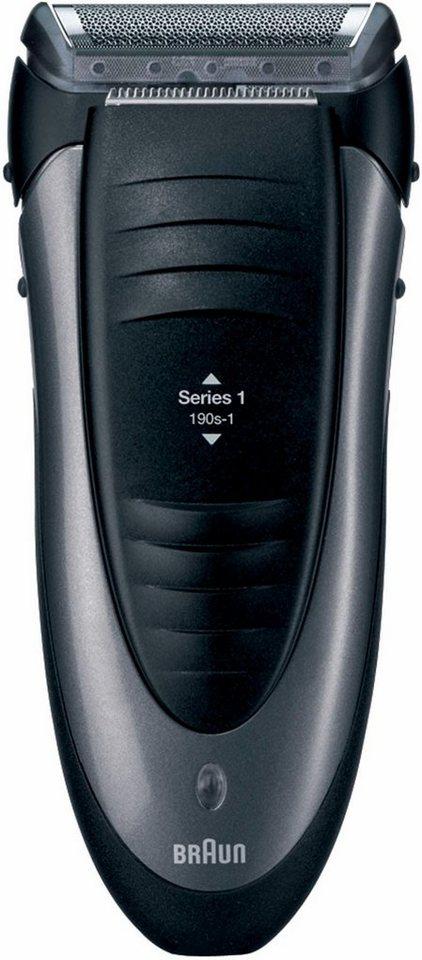 Braun Elektrorasierer Series 1 190s-1 in schwarz