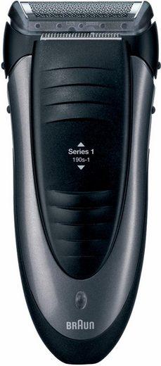 Braun Elektrorasierer Series 1 190s-1, Aufsätze: 1, Langhaartrimmer