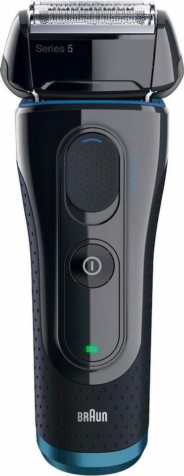 Braun Elektrorasierer Series 5 5040s , Wet&Dry-Rasierer in schwarz