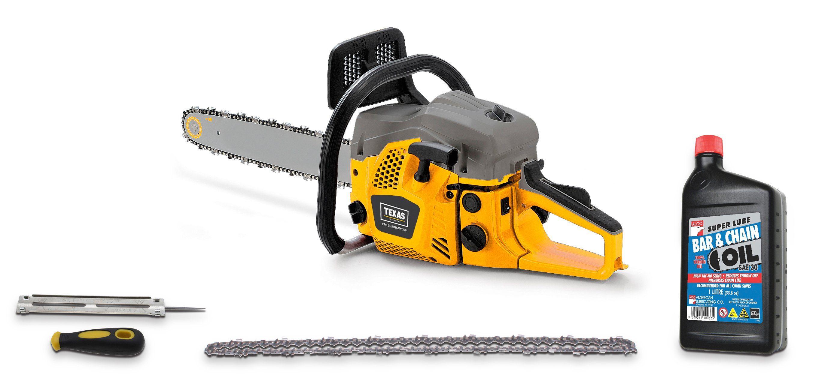 TEXAS Benzin-Kettensäge »Pro Chainsaw 300«, 45 cm Schwertlänge