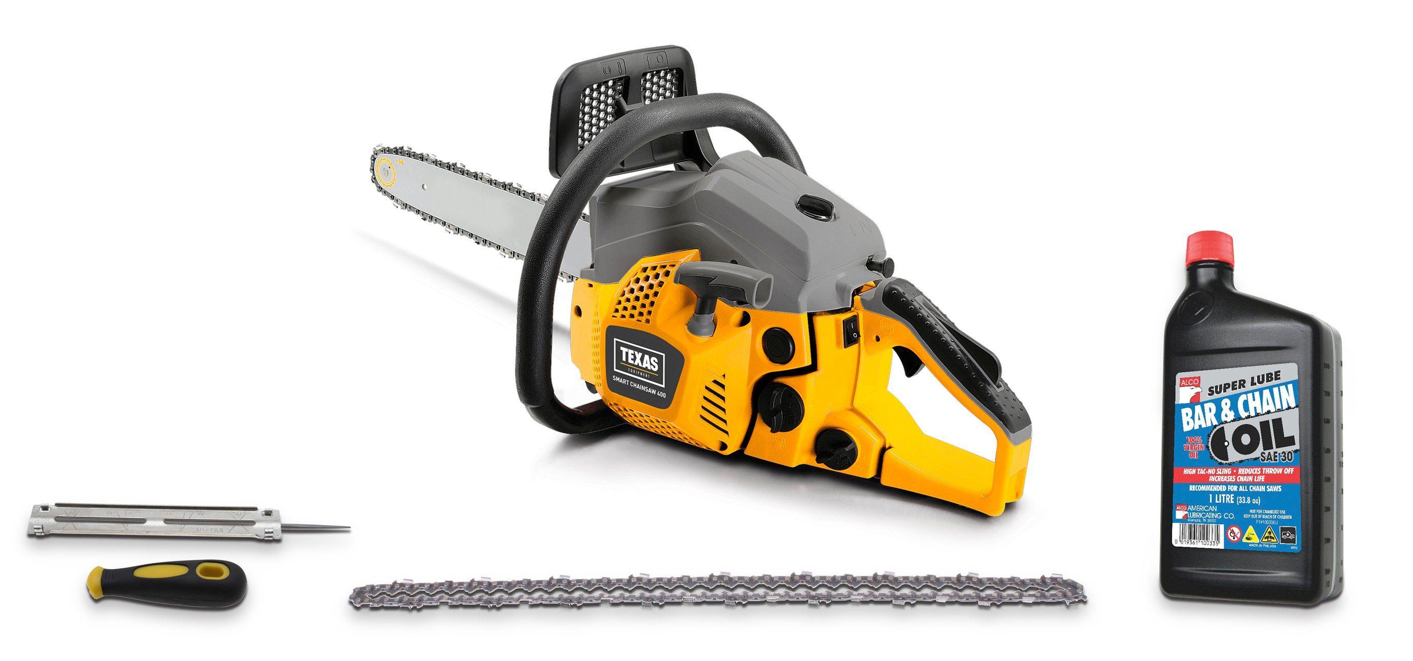 TEXAS Benzin-Kettensäge »Smart Chainsaw 400«