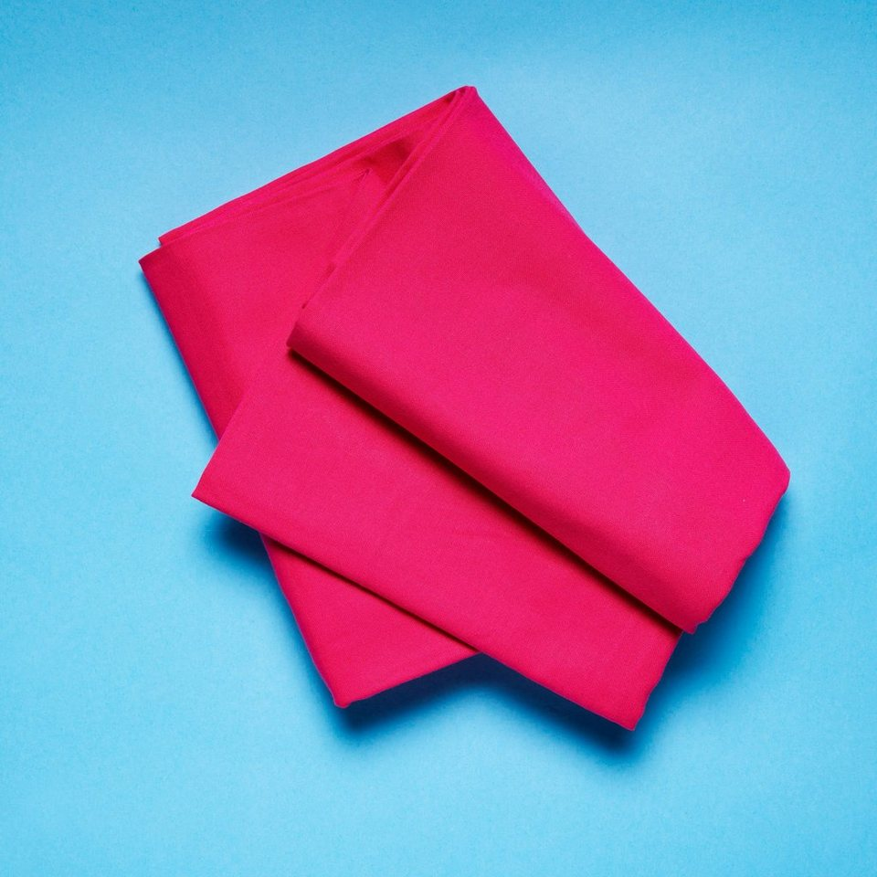 BUTLERS SOLID »Tischdecke 90x90 cm« in pink