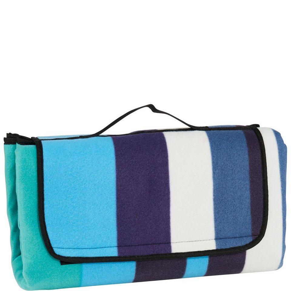 BUTLERS GET TOGETHER »Picknickdecke Design« in blau