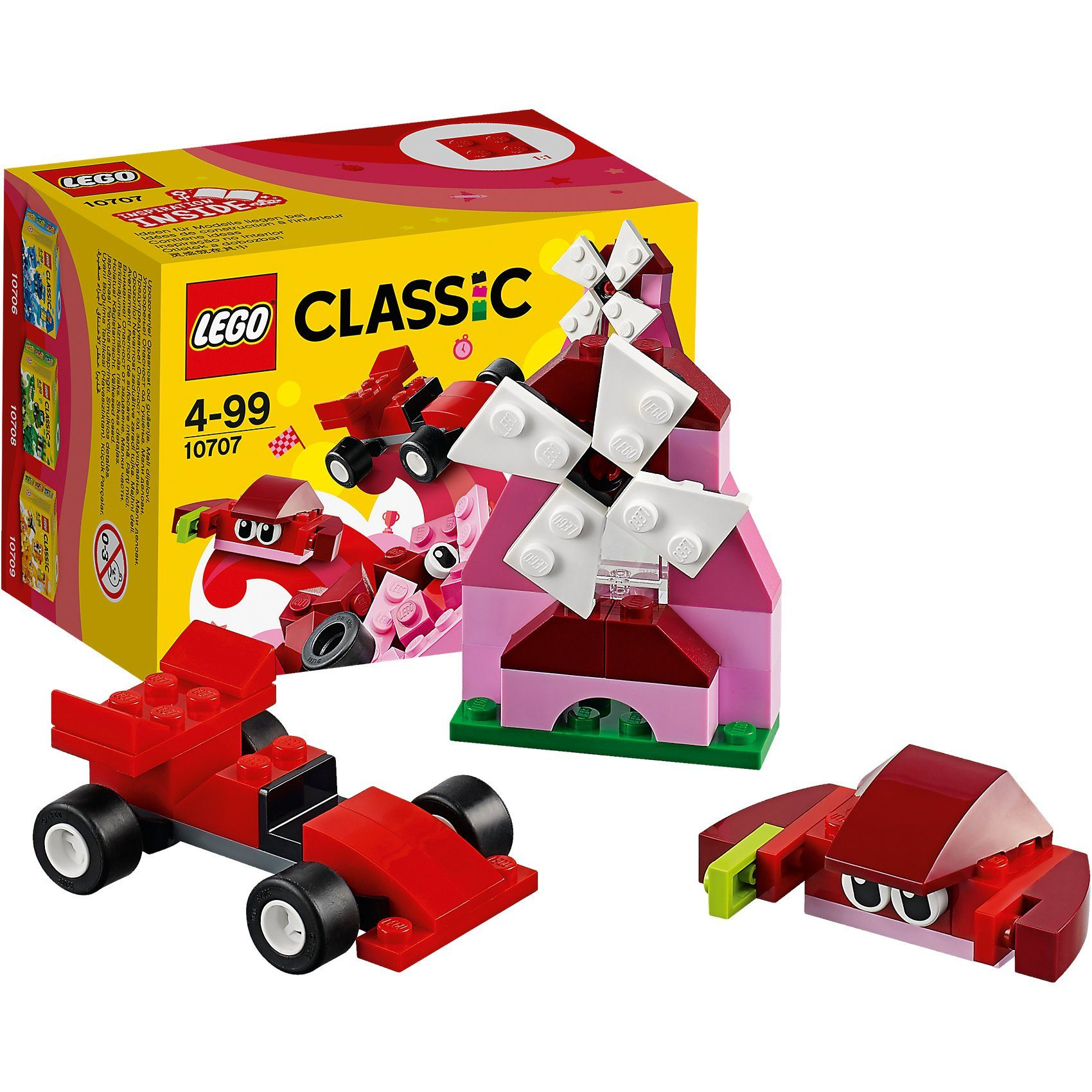 LEGO 10707 Classic: Kreativ-Box Rot