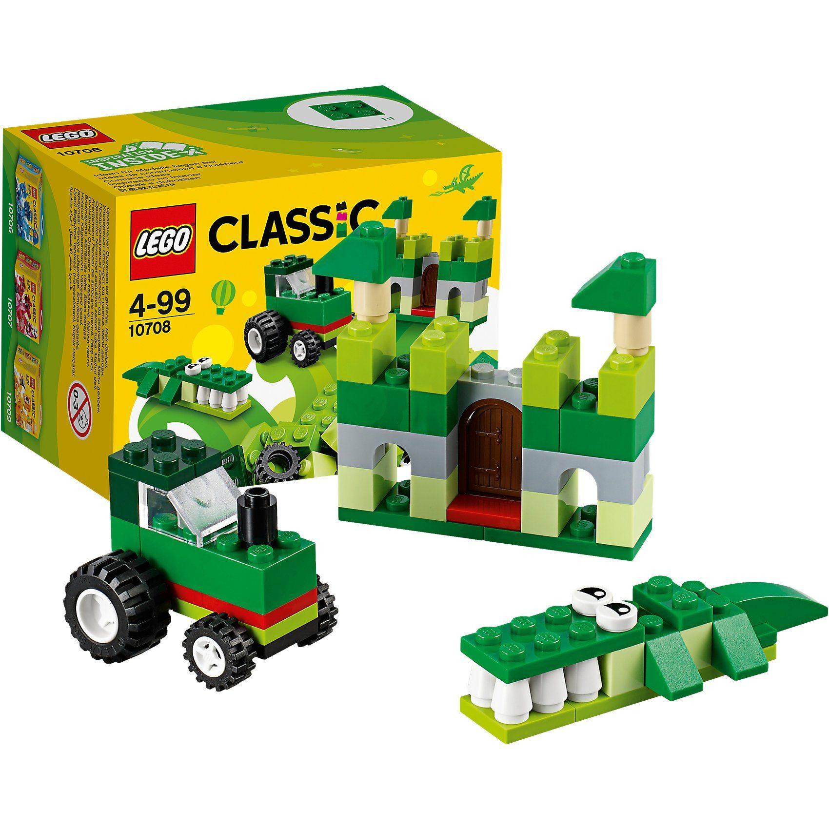 Lego® 10708 Classic: Kreativ-Box Grün