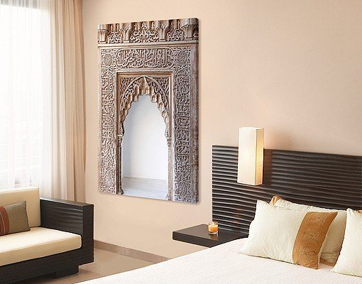bilderwelten leinwandbild alhambra online kaufen otto. Black Bedroom Furniture Sets. Home Design Ideas