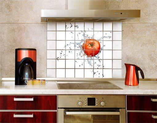 bilderwelten fliesenbild frische tomate kaufen otto. Black Bedroom Furniture Sets. Home Design Ideas