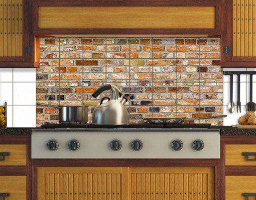 bilderwelten fliesenbild colours of the wall otto. Black Bedroom Furniture Sets. Home Design Ideas