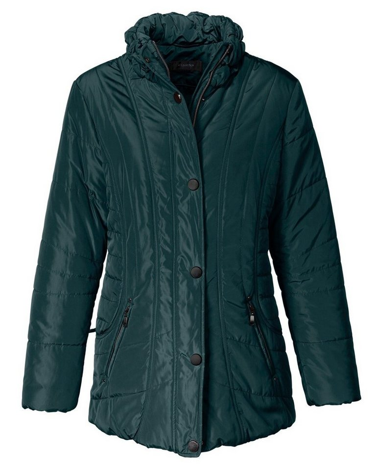 Clarina Outdoor-Jacke in Flaschengrün