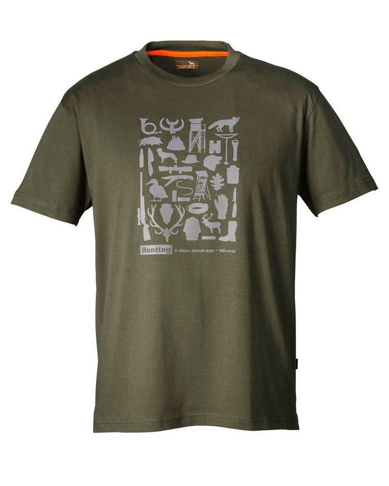 Parforce T-Shirt in Oliv