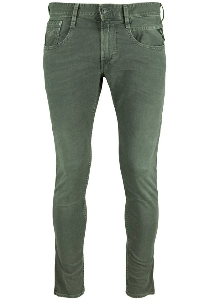 REPLAY Jeans »ANBASS Slim Leg« in bottle green