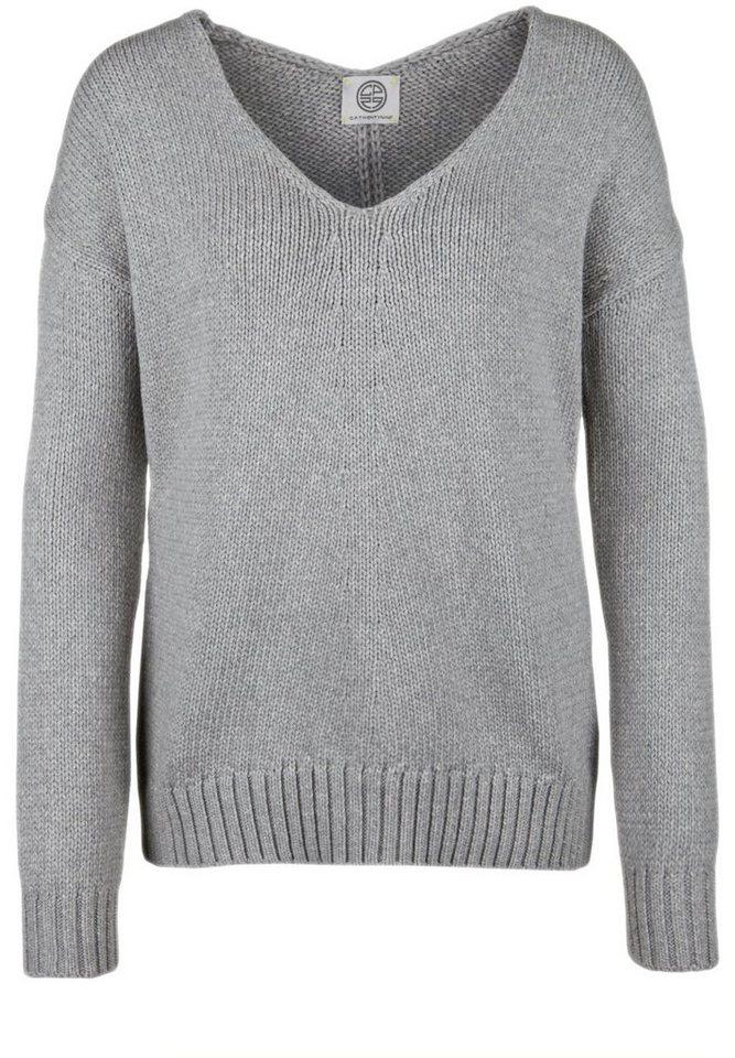 CP29 Strickpullover »JOELLE« in grey