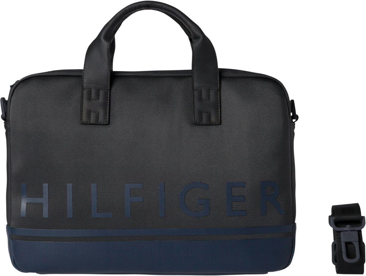 Tommy Hilfiger Aktenkoffer, -tasche, Herrentasche »SIGNATURE STRIPE COMPUTER BAG«
