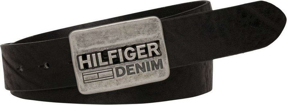 tommy hilfiger g rtel thd plaque belt 3 5 kaufen otto. Black Bedroom Furniture Sets. Home Design Ideas