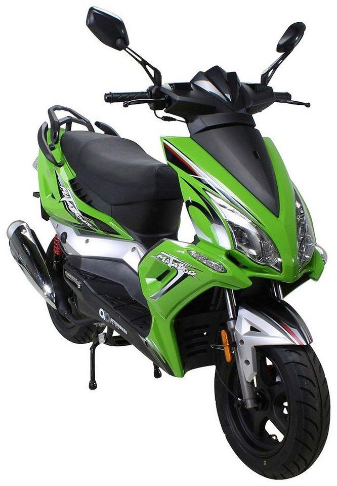 actionbikes motors motorroller matador 125 ccm 85 km. Black Bedroom Furniture Sets. Home Design Ideas