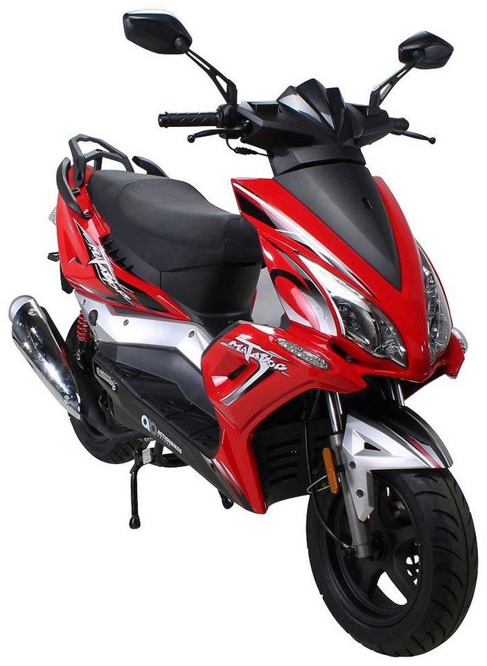 Actionbikes Motors Motorroller »Matador «, 125 ccm, 85 km/h