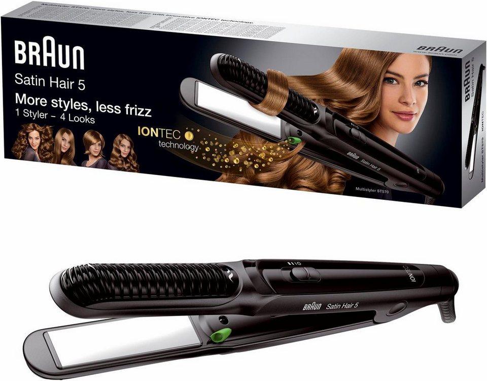 Braun Multistyler Satin Hair 5 ST 570, mit IONTEC Technologie in schwarz
