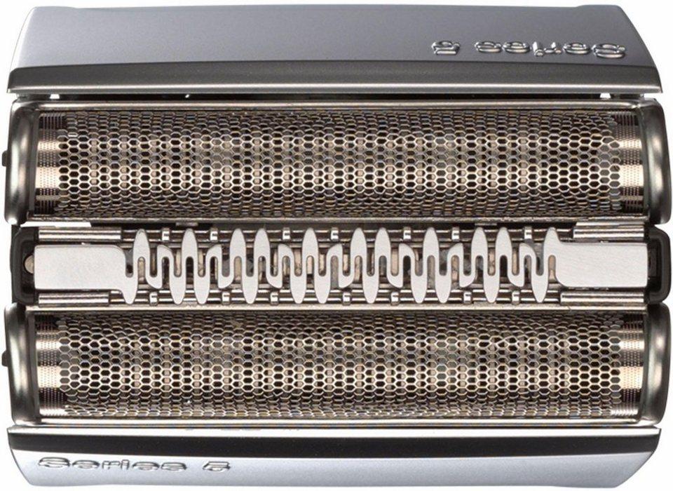 Braun, Ersatzscherteil 52 S, Kompatibel mit Series 5 Rasierern, schwarz in silber