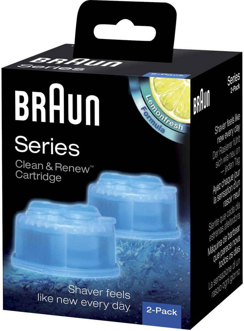 Braun »Clean & Renew CCR« Elektrorasierer Reinigungslösung (Set, für Series 3-9 Elektrorasierer)