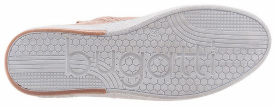 Bugatti Sneaker, mit Metallic Effekt