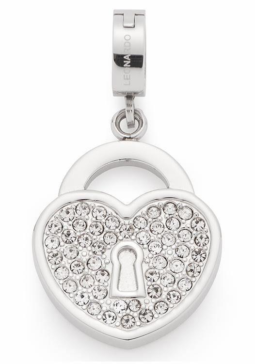 LEONARDO Charm-Einhänger »Emozione Darlin´s, 016081« mit Kristallsteinen