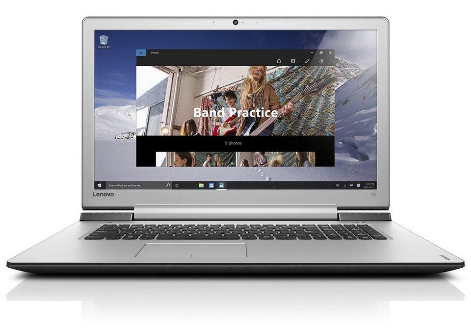 "LENOVO IdeaPad 700-17ISK Notebook »Intel Core i7, 43,9cm (17,3""), 1 TB + 256 GB, 16GB« in schwarz"
