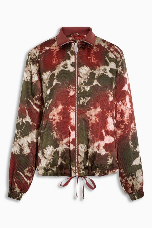 Next Jacke in Batik-Optik in Red