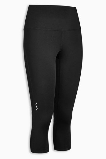 Next Capri-Leggings mit Mesh-Details