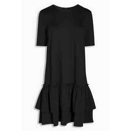 Next Kleid mit Rüschensaum
