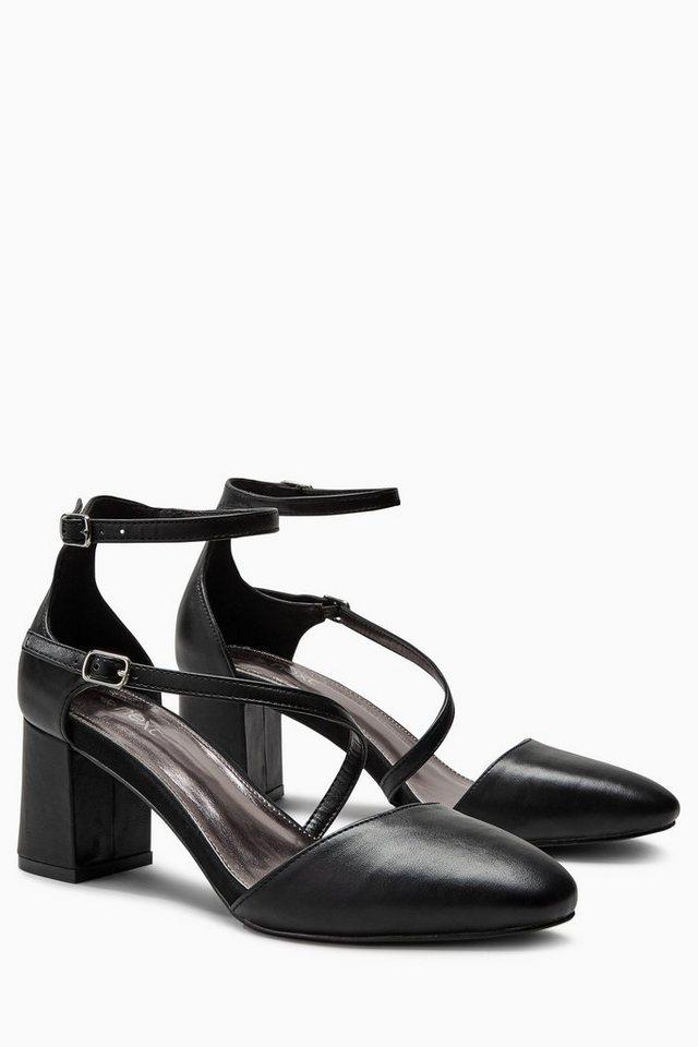 Next Zweiteilige Sandalette in Black