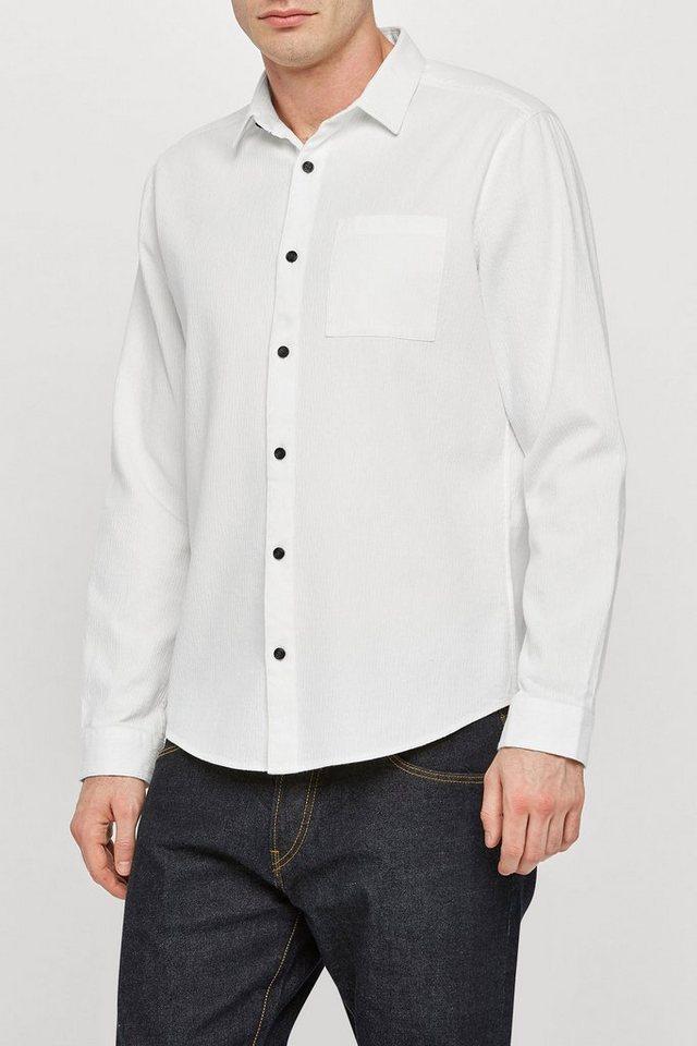 Next Strukturiertes Hemd in White