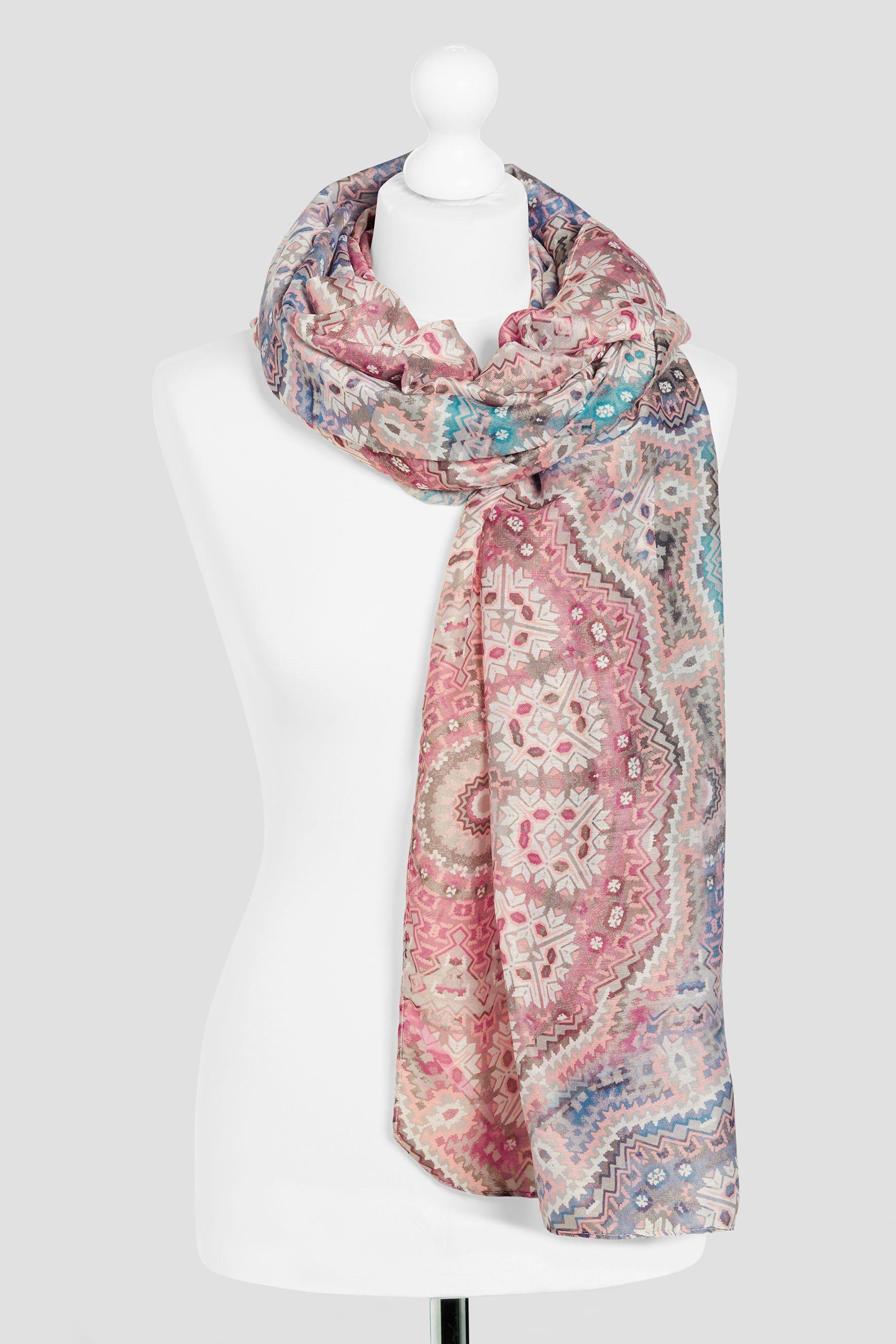 Next Schal mit Mosaik-Print