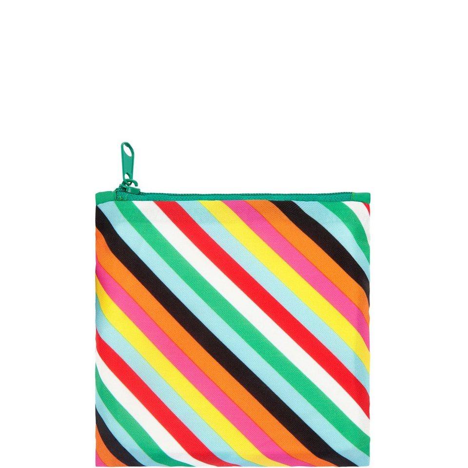 BUTLERS LOQI »Einkaufstasche Streifen« in bunt