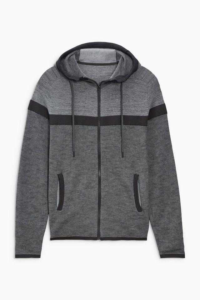 Next Sportliche Kapuzenjacke in Grey