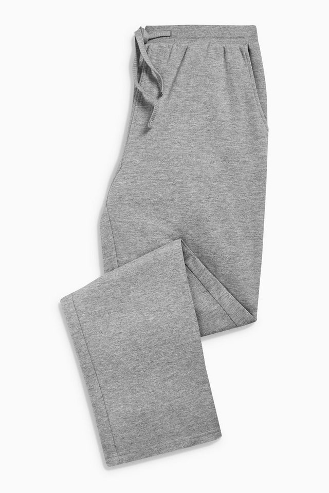 Next Jogginghose mit offenem Saum in Grey