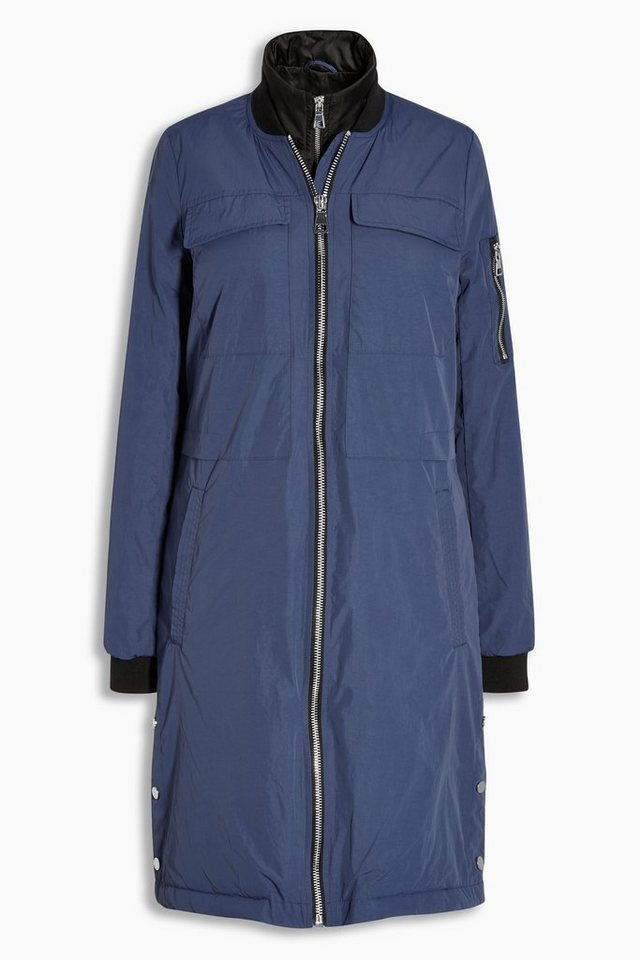Next Lange Bomberjacke in Blue