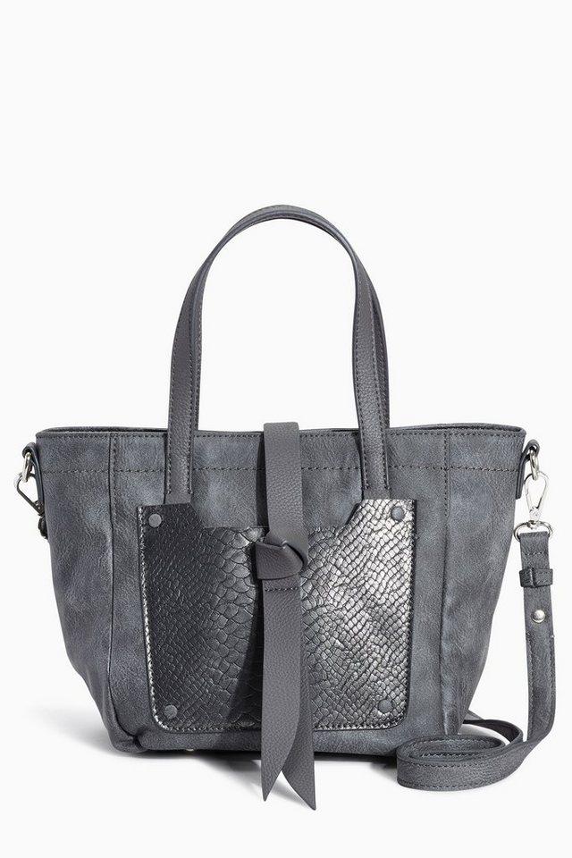 Next Kleine Handtasche in Grey