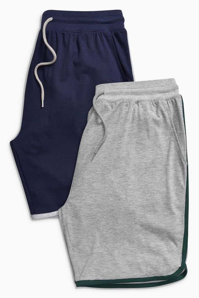 Next Retro-Shorts, 2er-Pack 2 teilig in Grey