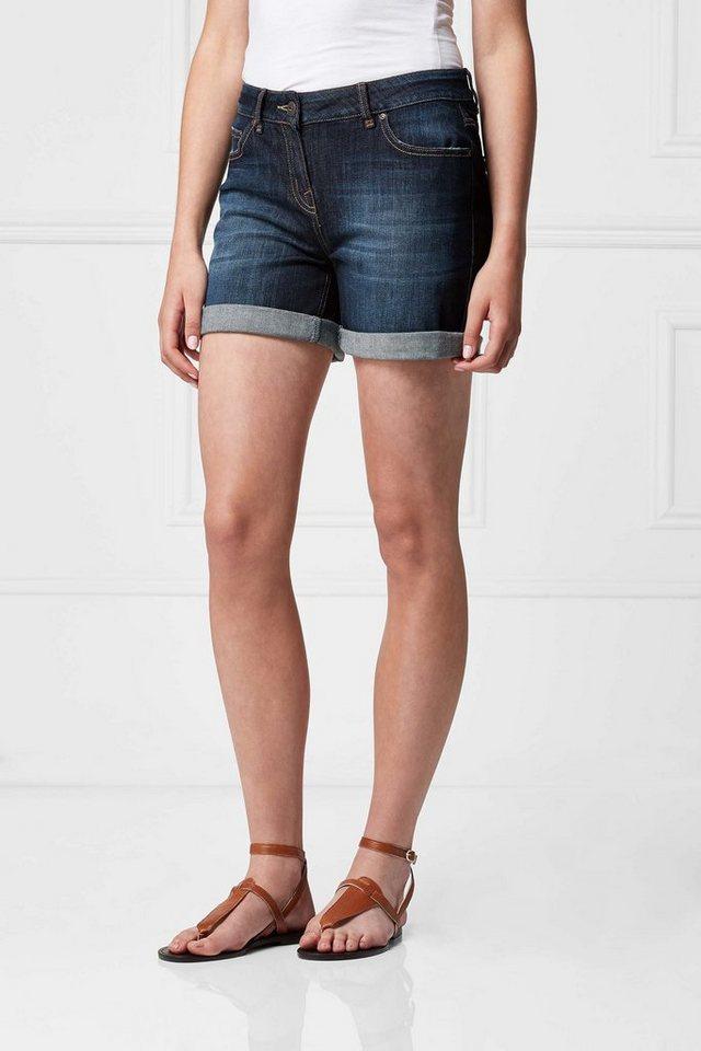 Next Jeansshorts im Jungenschnitt in Dark Blue