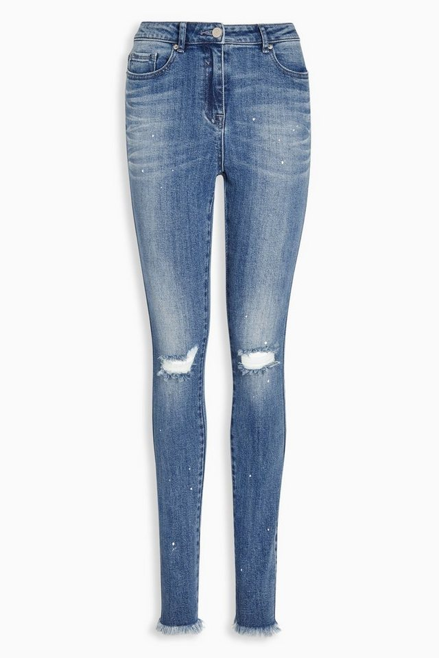 Next Skinny-Jeans in Mid Blue