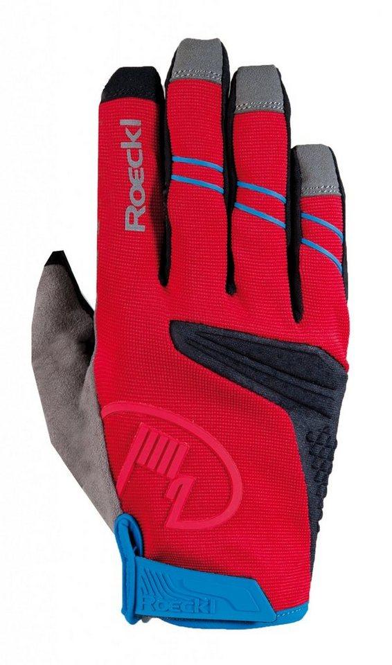 Roeckl Fahrrad Handschuhe »Melides Handschuhe« in rot