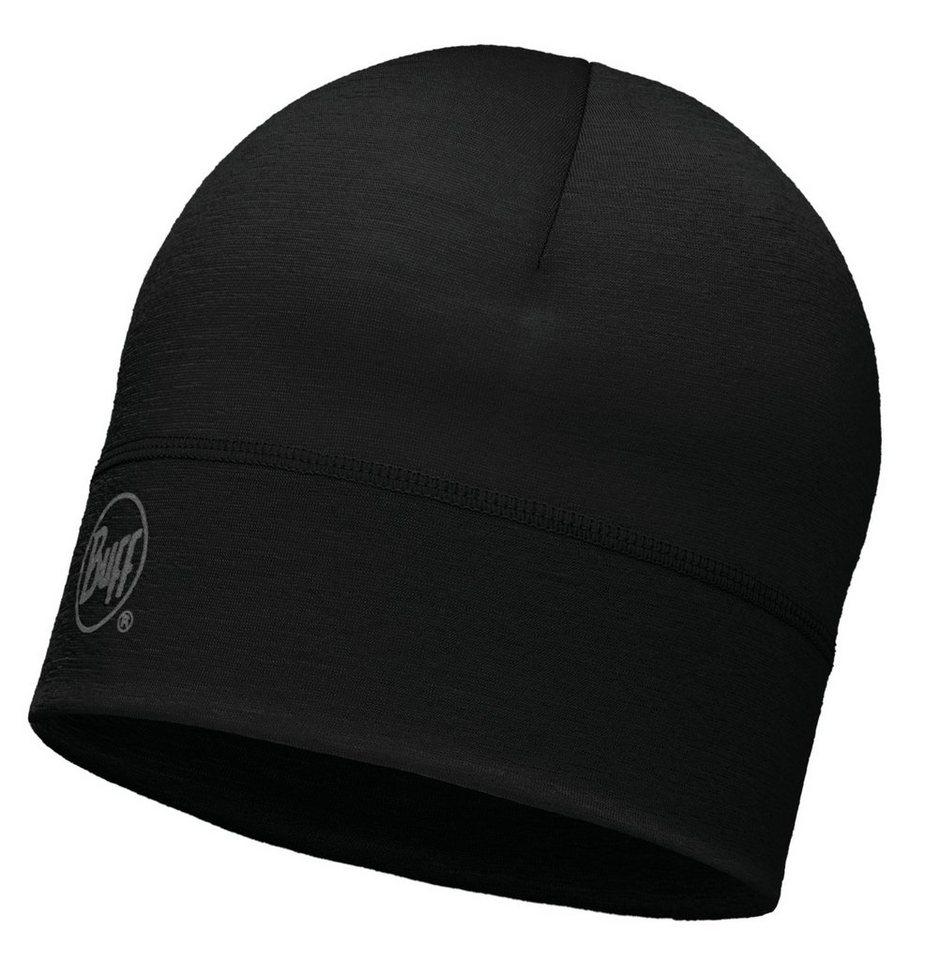 Buff Hut »Merino Wool Hat« in schwarz