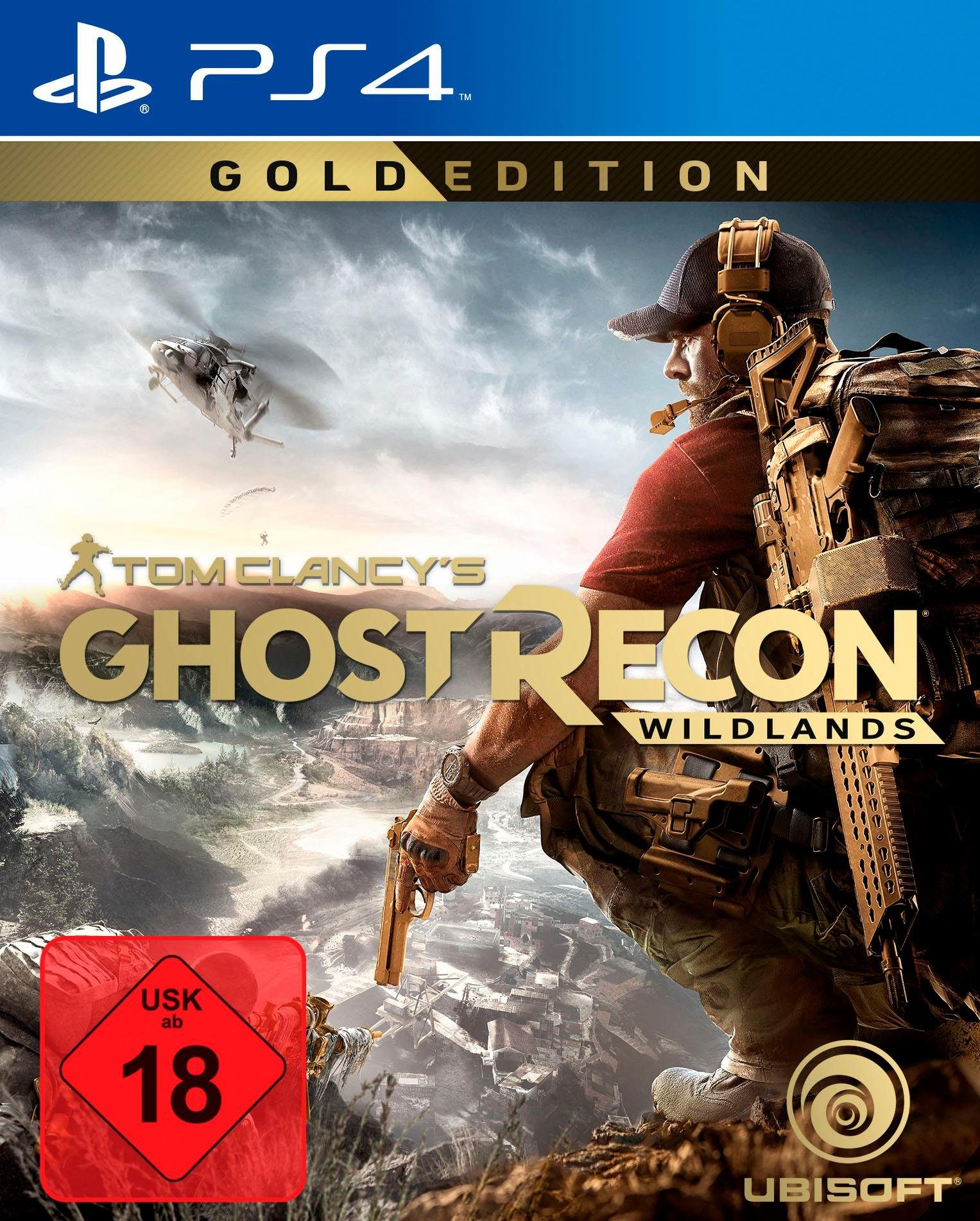 Tom Clancy's Ghost Recon Wildlands Gold Edition PlayStation 4