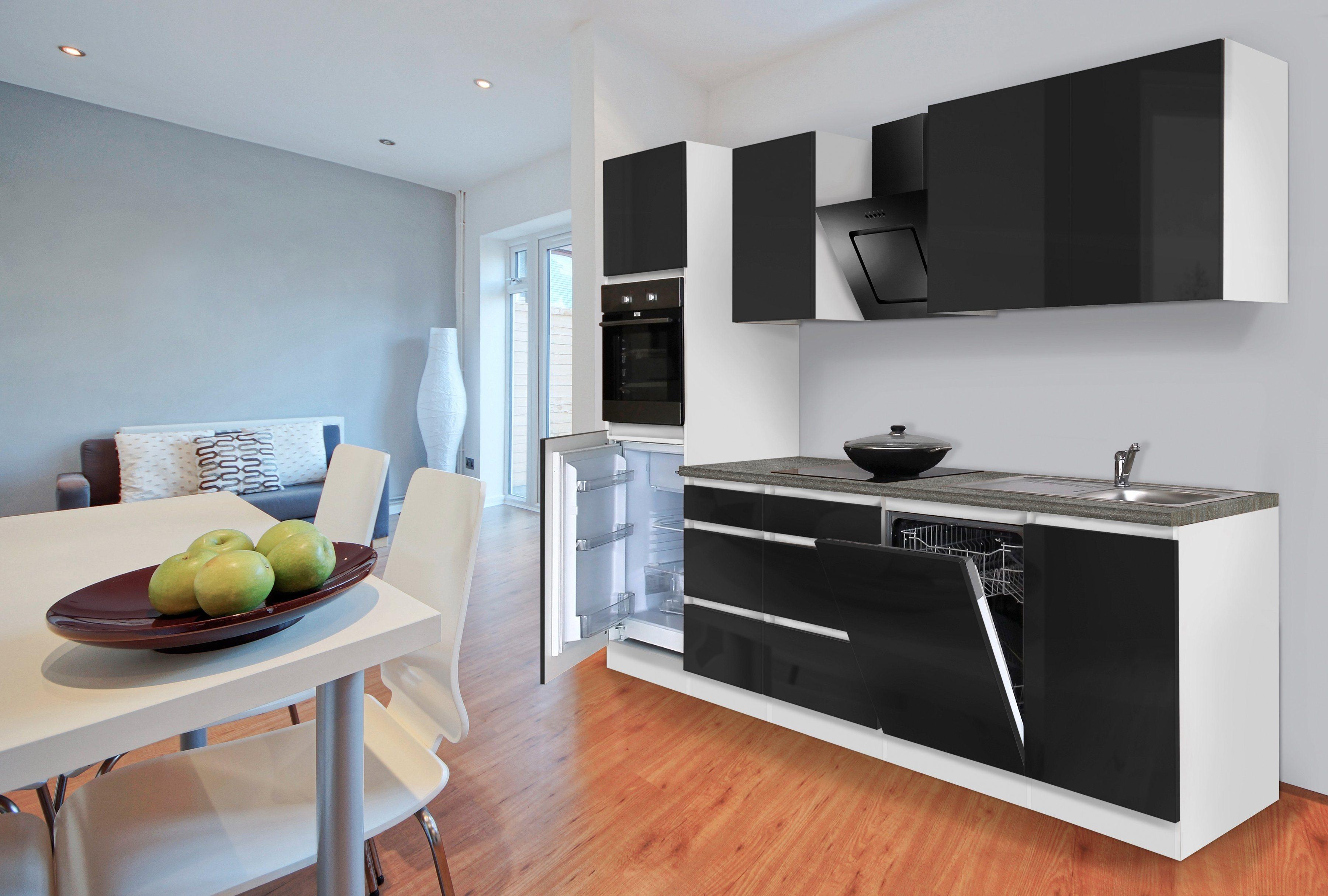 Wunderbar Artego Küchen Sammlung Von Respekta Küchenzeile Mit E-geräten »bostonÂ«, Breite 280