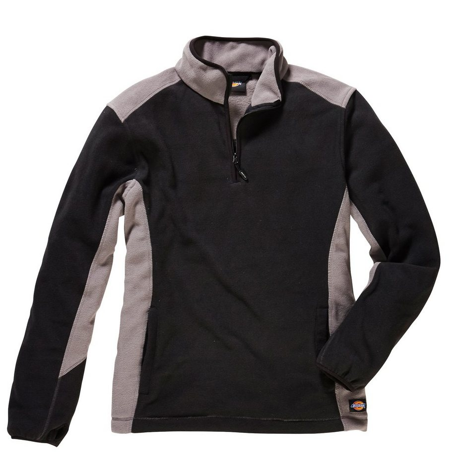 DICKIES Fleece-Pullover »Two Tone Micro Fleece« | Sportbekleidung > Fleecepullover | Schwarz | Dickies